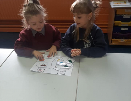 Busy Junior Infants!