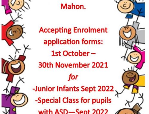 Admissions Notice (October 2021)